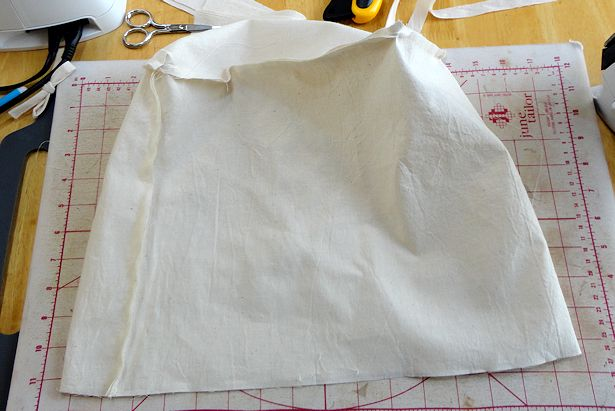 Make Basket Liners - Top Hem