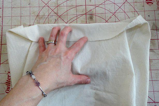 Make Basket Liners - Measuring