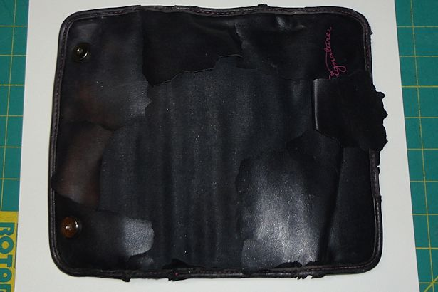 Makeup Brush Roll - Trace Outside