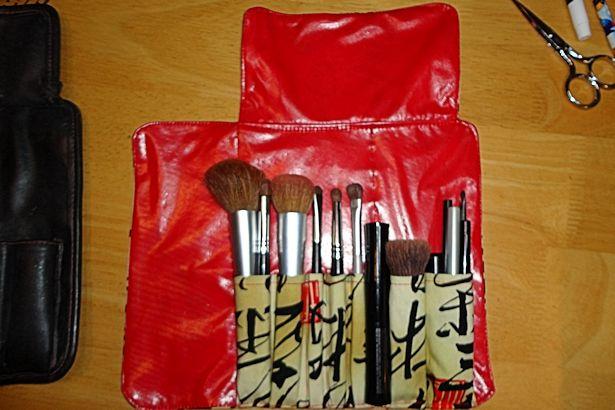 Makeup Brush Roll - Locked & Loaded