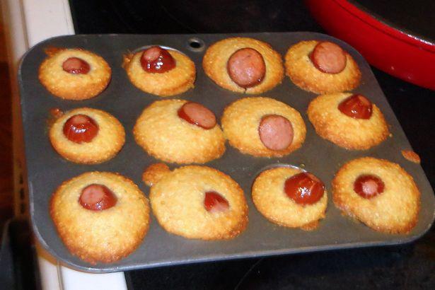 Mini Corndog Muffins - Ready to Eat