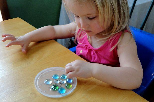 Mother's Day Craft Sun Catcher - Add Gems