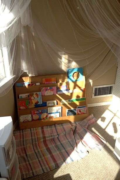 Reggio Emilia Environment - Book Corner Before