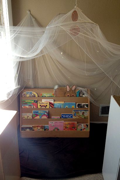 Reggio Emilia Environment - Book Corner Middle