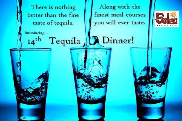Solea Tequila Tasting Dinner June 2013
