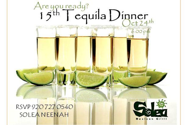 Solea Tequila Tasting Dinner October 2013
