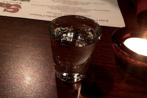 Solea Tequila Dinner October 2013 - Tequila Shot