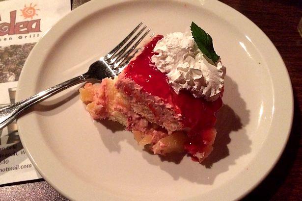 Solea Tequila Dinner October 2013 - Strawberry Cream Cake