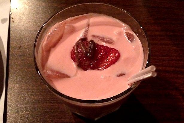 Solea Tequila Dinner October 2013 - Strawberry Drink