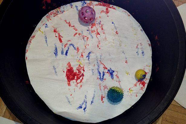 WECA 2012 - Ball Painting