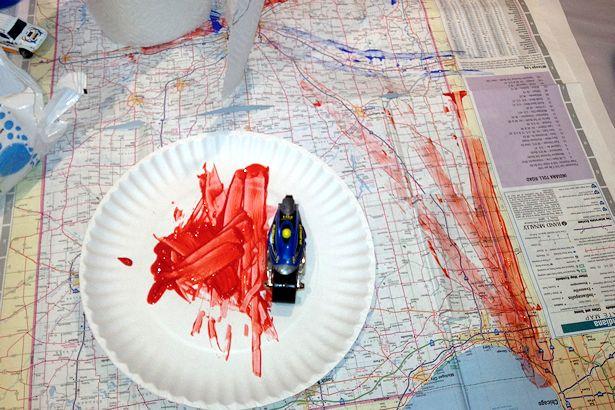 WECA 2012 - Map Painting