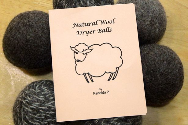 Wool Dryer Balls on Table