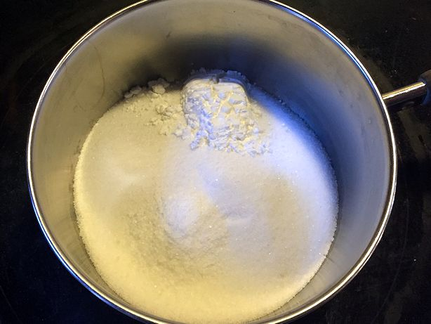 Great Apple Dessert - Cornstarch Mixture