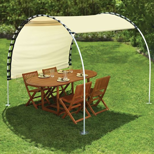 Incroyable DIY Outdoor Canopy