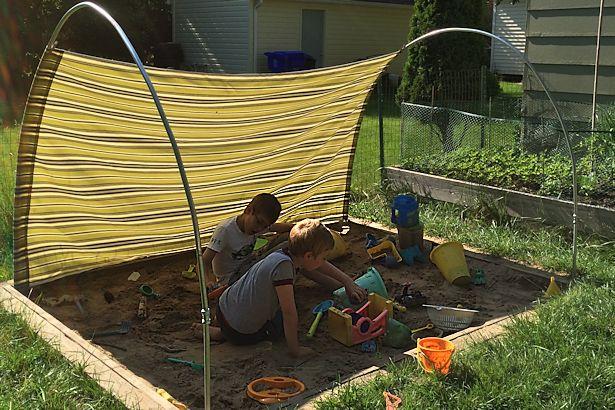 Diy Outdoor Canopy My Happy Crazy Life