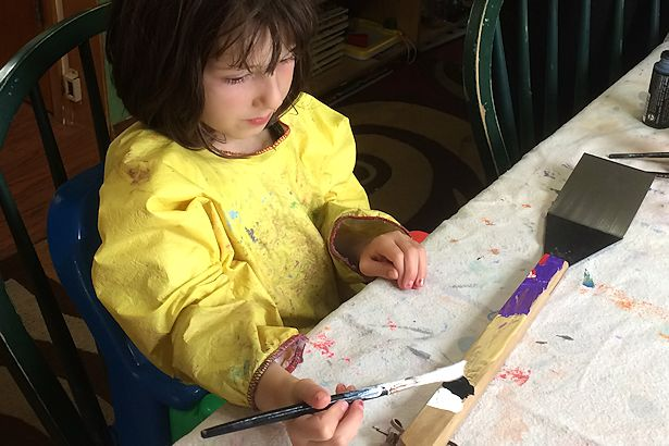 Father's Day Craft - Painting