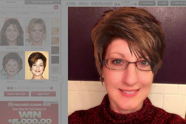 Free Virtual Makeover - Carolyn Hennesee