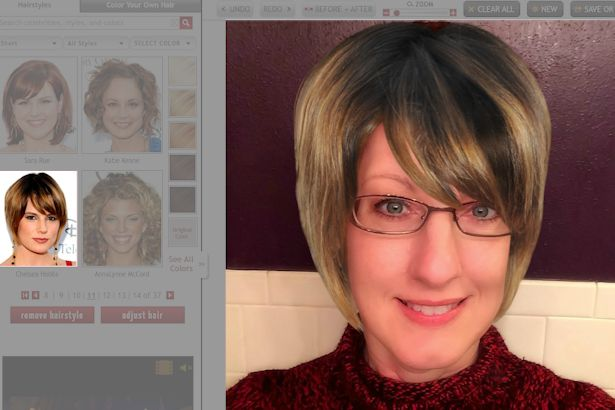 Free Virtual Makeover - Chelsea Hobbs Blonde