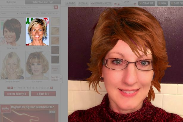 Free Virtual Makeover - Edie Falco