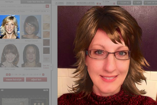 Free Virtual Makeover - Jackie Warner