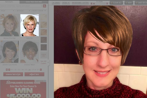 Free Virtual Makeover - Kylie Bax
