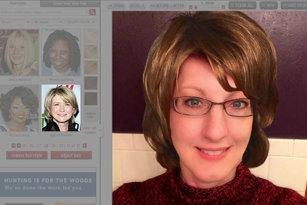 Free Virtual Makeover - Martha Stuart