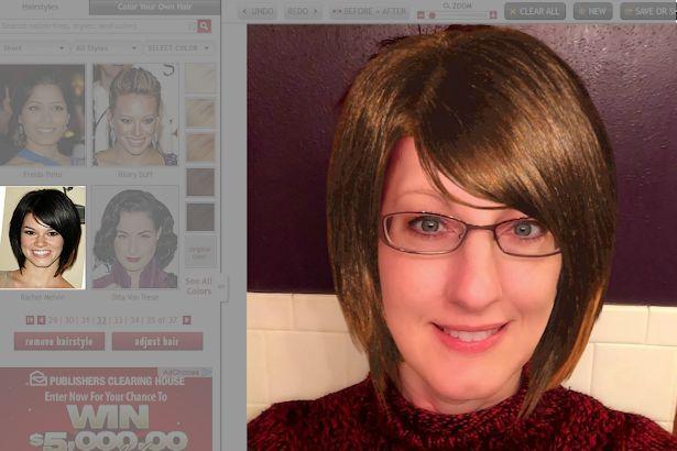 Free Virtual Makeover - Rachel Melvin