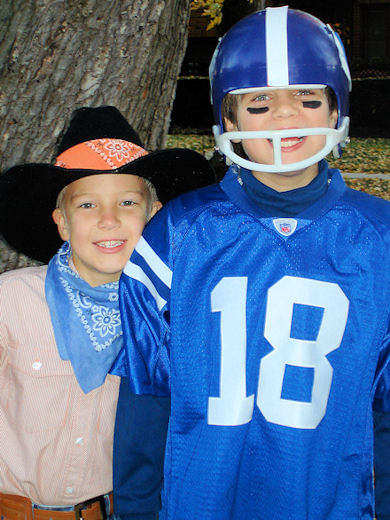 Save Money on Halloween Costumes - Jo-Bear Football