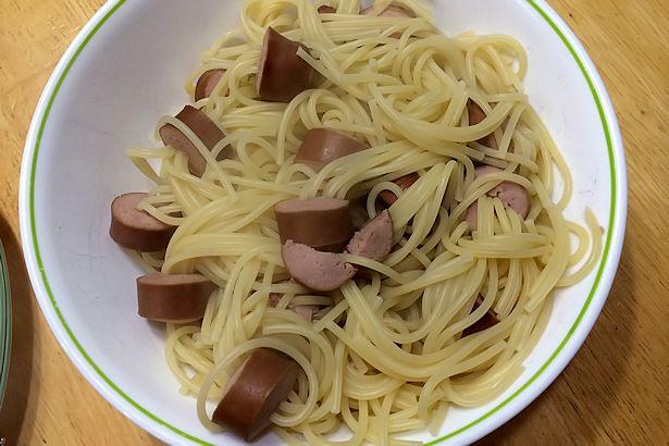Hot Dog Squid Recipe - Cooked