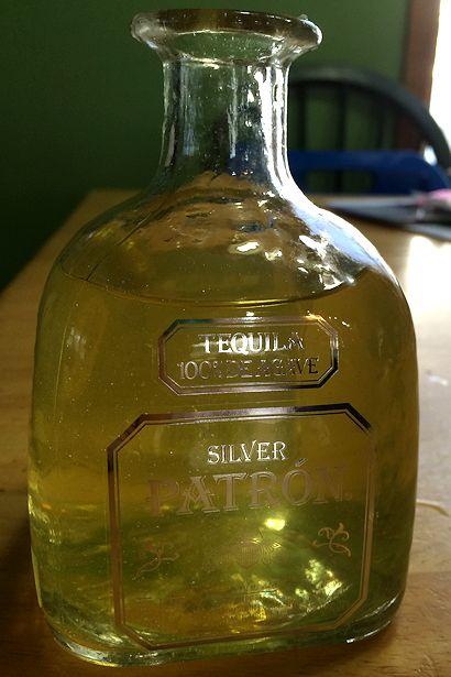 Meyer Lemon Margarita Recipe - Finished Tequila
