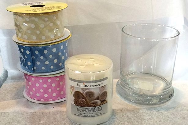 Mother's Day Craft Candle - Supplies