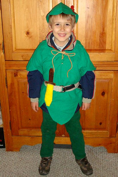 Save Money on Halloween Costumes - Z-Man Peter Pan