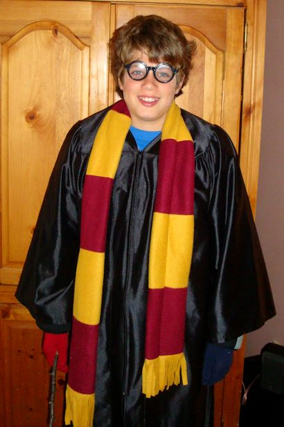 Save Money on Halloween Costumes - Jo-Bear Harry Potter