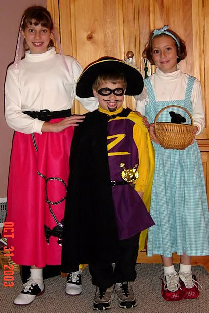 Save Money on Halloween Costumes - Princess, Jo-Bear, Angel Face