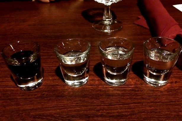 Solea Tequila Dinner February 2014 - Four Shots