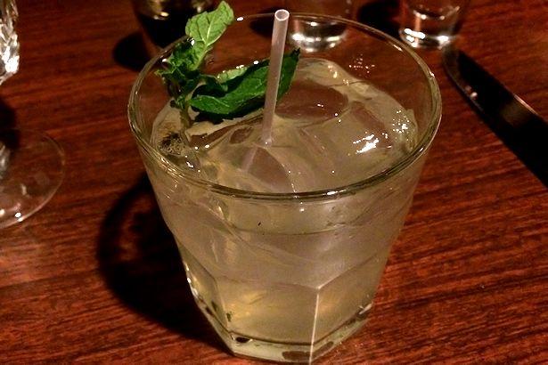 Solea Tequila Dinner February 2014 - Cabo Wabo Mojito