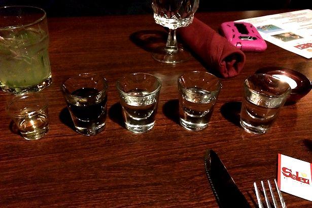 Solea Tequila Dinner February 2014 - Five Shots