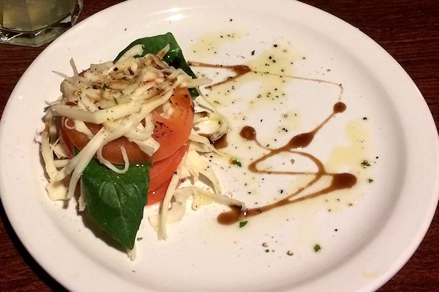 Solea Tequila Dinner February 2014 - Tomato and Cheese Salad