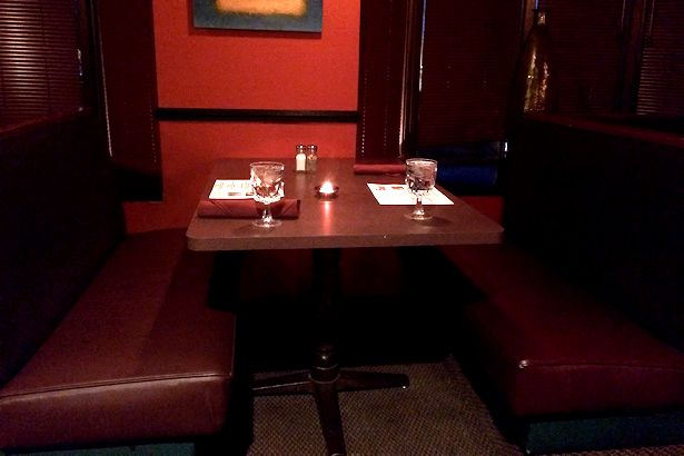 Solea Tequila Dinner February 2014 - Empty Booth