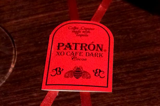 Solea Tequila Dinner February 2014 - Patrón XO Cafe Label