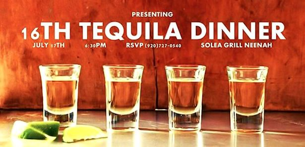 Solea Tequila Dinner July 2014 - Announcement