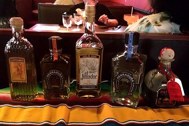 Solea Tequila Dinner July 2014 - Tequilas