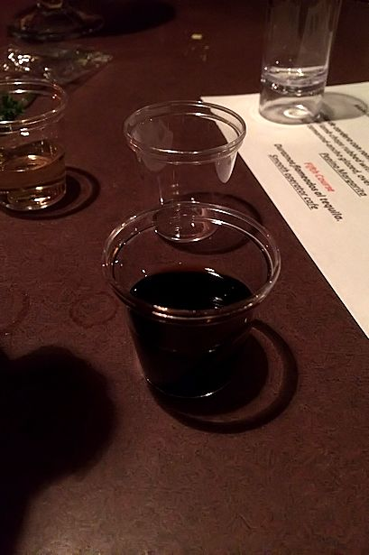 Solea Tequila Dinner July 2014 - Patron XO Cafe Dark Cocoa