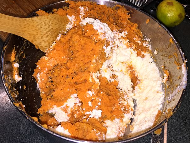 Sweet Potato Gnocchi - Dry Ingredients