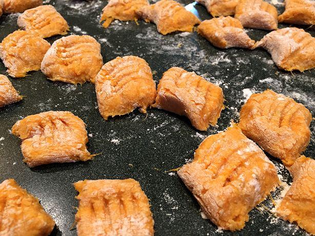 Sweet Potato Gnocchi - Fork the Segments