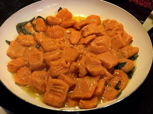 Sweet Potato Gnocchi - Toss