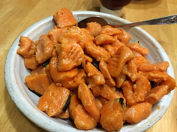 Sweet Potato Gnocchi - Serve