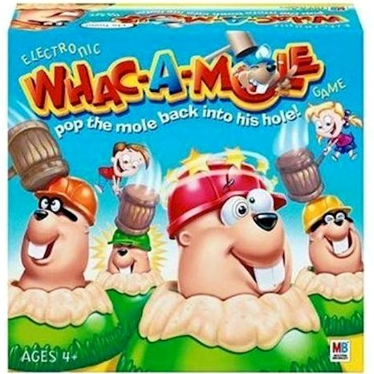how to build a whack a mole game