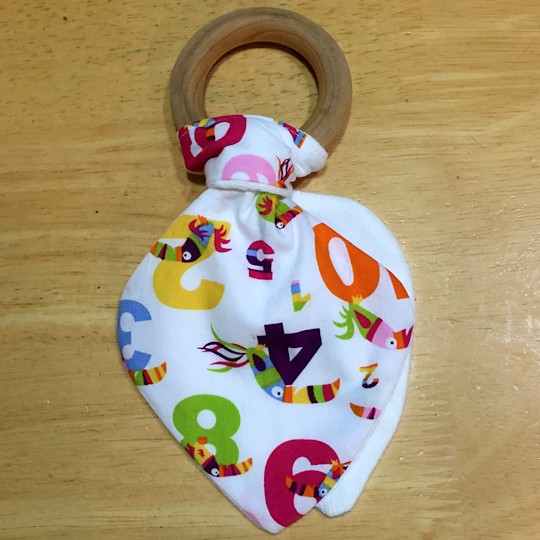 Make a Natural Wood Teether