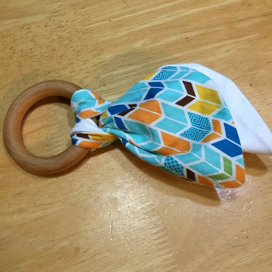 Natural Wood Teether - Teether from Nicole